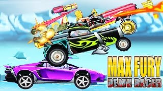 Max Fury Death Racer Full Gameplay - Y8 Game | Eftsei Gaming