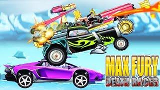 Max Fury Death Racer Full Gameplay - Y8 Game | Eftsei Gaming