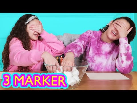 Squishy Makeover Three Marker Challenge (Gracie & Sierra Haschak)