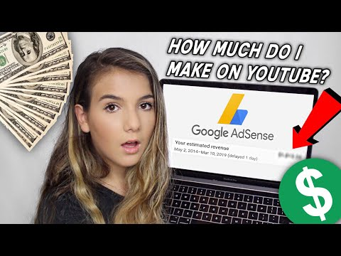 My First Youtube Paycheck + How To Make Money On Youtube 2019