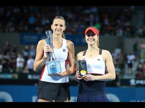 2017 Brisbane International Final | Karolina Pliskova vs Alize Cornet | WTA Highlights