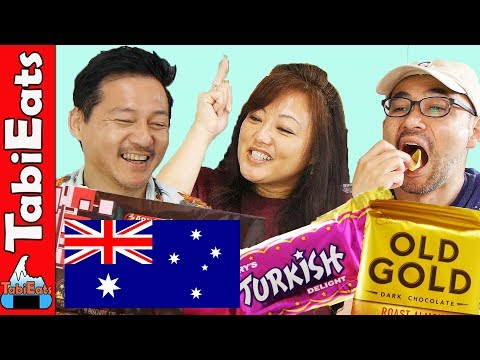 Japanese Try Australian Snacks 3