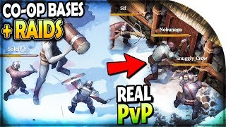 CO-OP BASE BUILDING + RAIDS + REAL PvP - NEW Last Day on Earth Survival VIKING GAME FROSTBORN Part 1