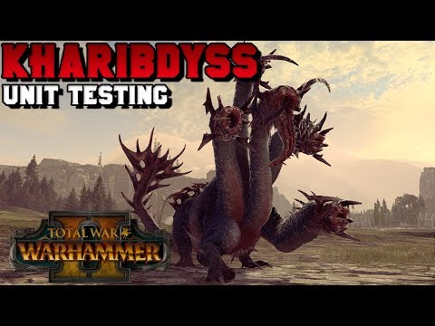 Unit Testing With Turin: Kharibdyss!! (Star Dragon, Necrosphinx, And MORE!) | Total War: Warhammer 2