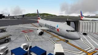 X-Plane 10 | IXEG 733 | Pilot Edge | KSFO-KLAX | FULL FLIGHT
