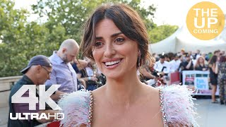 Penélope Cruz on Pain & Glory - interview at premiere in London