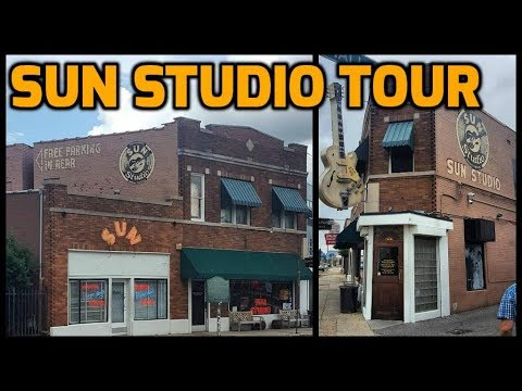 Sun Studio Tour - Memphis, TN (Elvis Presley's First Recordings)