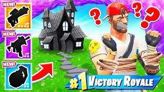 GET SCARED = BETTER LOOT in Fortnite Battle Royale
