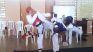 Eros x Amarildo - Taekwondo Campeonato Betel 2013