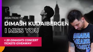 "Reacción a DIMASH KUDAIBERGEN ""I Miss You"" y sorteo 20 tickets para su show virtual 