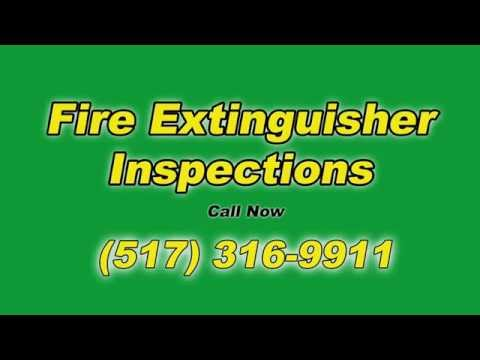 Fire Extinguisher Inspections Delhi Charter Township MI Michigan