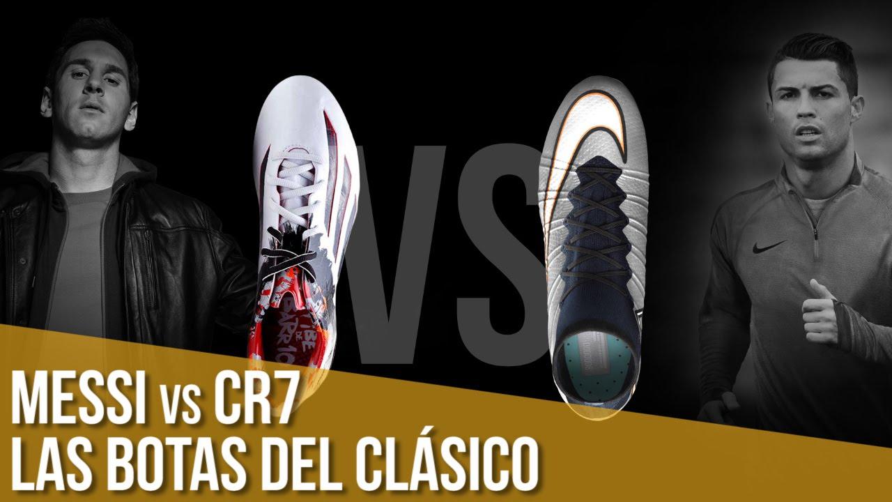 Las botas de Messi y Cristiano para el Clásico - YouTube 781bca8035b1d