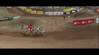 MX GP Latvia 2017 Race 1 Tim Gajser crash ● 07/05/2017
