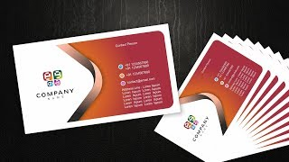 Visiting card design with cdtfb --- corel draw tutorials for beginners