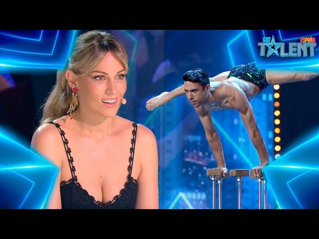 Este FRANCÉS sorprende con su FUERZA sobre su cuerpo | Audiciones 7 | Got Talent España 7 (2021)