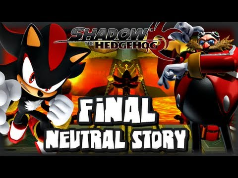 Shadow the Hedgehog - (1080p) Part 2 FINAL - Neutral Story - YouTube