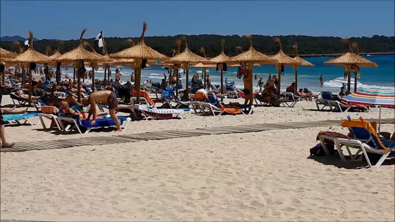 Mallorca Karte Sa Coma.Urlaubsinfos Sa Coma Mallorca Hd