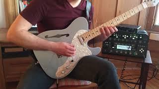 Joe Satriani Cherry Blossoms Arpeggios - Cross Picking Practice