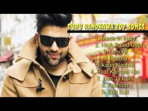 Top 2018 New Songs Of Guru Randhawa ( Jukebox)