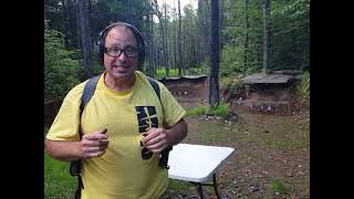 Practicing with a Shoulder Holster at the range