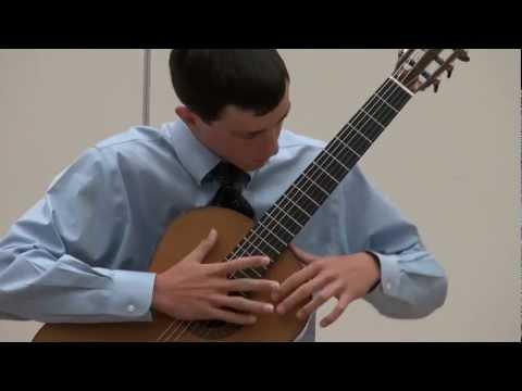 Alexander Stroud at Sacramento Guitar Society - Johanson - La Folia Folio