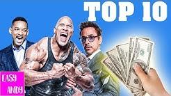 Top 10 Bestbezahlte Schauspieler Der Welt