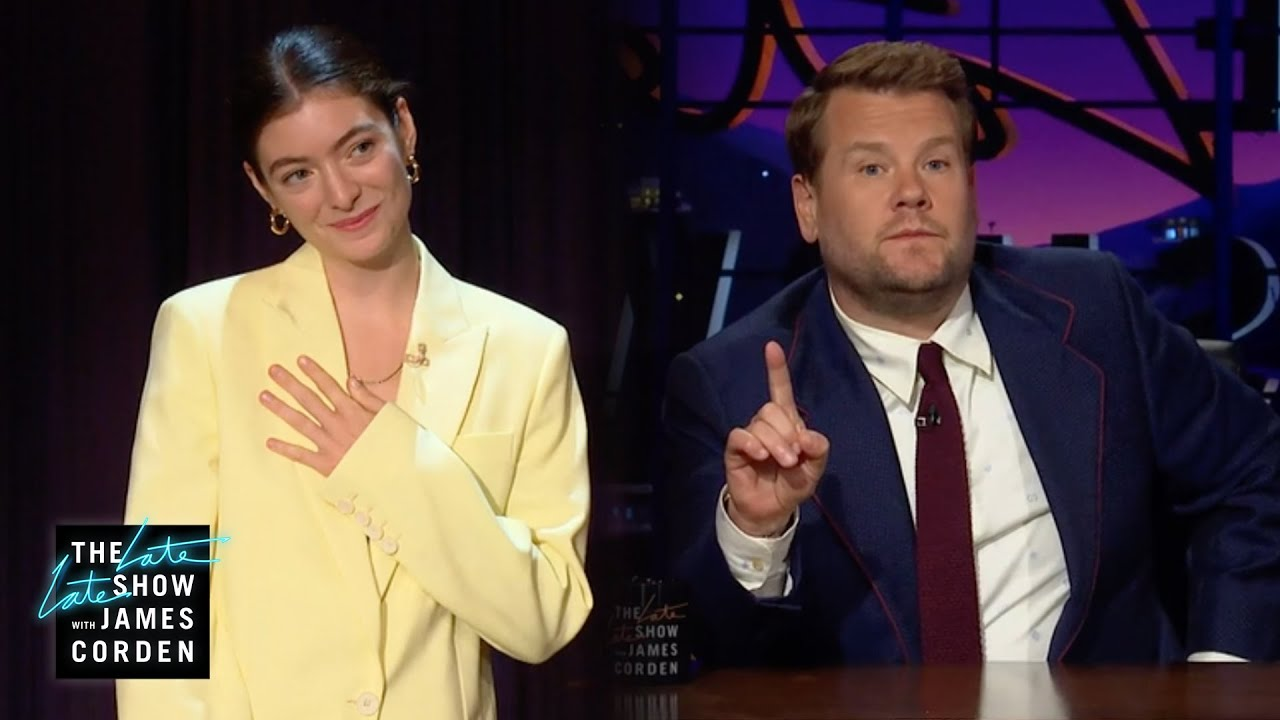 It's 'The Lorde Lorde Show' Now