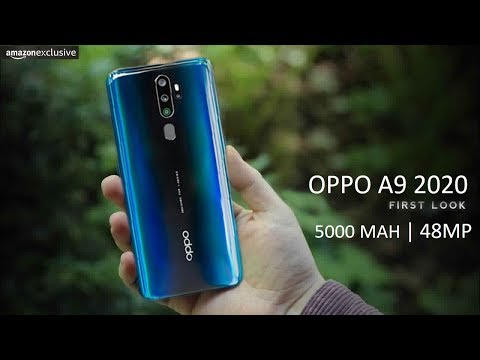 oppo-a9-2020-:-first-look- -5000-mah-battery,-48mp-quad-rear-camera,-sd-665- -price-in-india- -2019