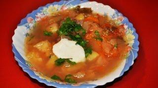 Как приготовить щи в мультиварке(Пошаговый рецепт приготовления щей в мультиварке. Другие видео: Суп с фрикадельками в мультиварке - http://www.yo..., 2013-02-06T21:39:32.000Z)
