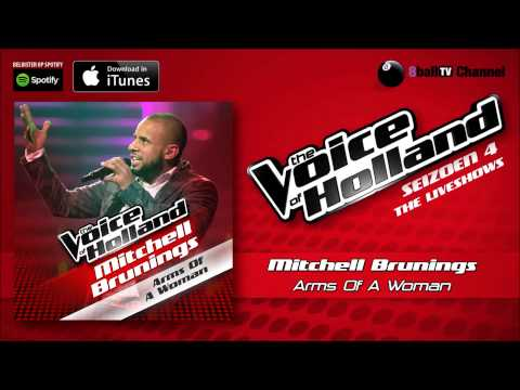Mitchell Brunings - Arms Of A Woman (Official Audio Of TVOH 4 Liveshows)