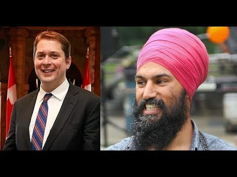 Clarey Test on Jagmeet Singh and Andrew Scheer