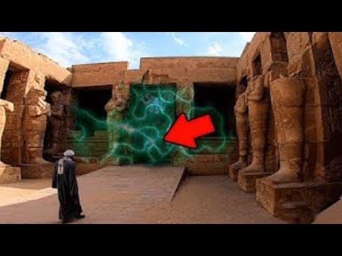 ¡In Diesem ÄGYPTISCHEN TEMPEL Geschieht Etwas Sehr Seltsames!