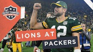 Fantasy Football 2019 Week 6 Matchup Breakdown | Lions at Packers