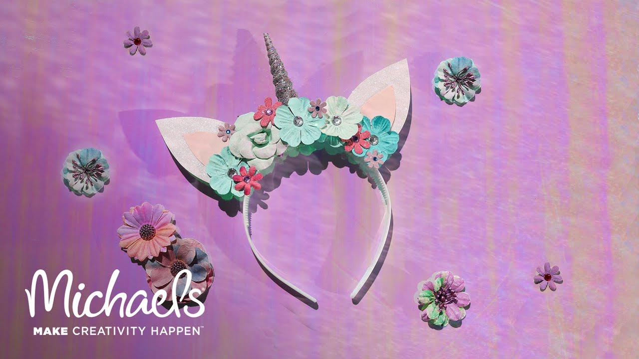 How to Make a Unicorn Headband  ec94c2d59a6