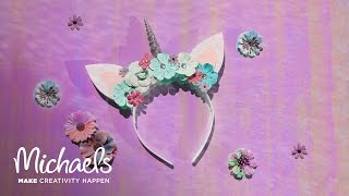 How to Make a Unicorn Headband | Michaels