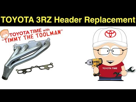 Toyota 3RZ Header Replacement