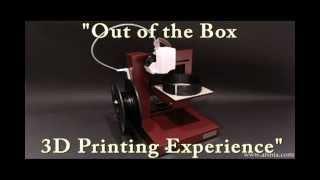 Afinia H-Series 3D Printer - Printing the 2012 Olympic Rings!