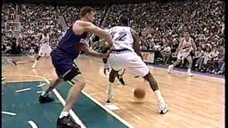 Suns at Jazz - 4/9/99 - Malone game-winning 3 FT
