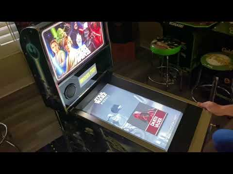 Star Wars Pinball Arcade1up Darth Vader Table: Extended Play from Kelsalls Arcade