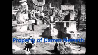 Footage of Edward Leedskalnin and his Coral Castle.