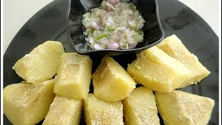 Sheema Chakka paalil puzhungiyathum Kanthari Chammanthiyum- chinnuz' I Love My Kerala Food