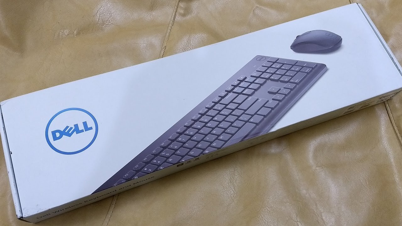 Dell Km117 Wireless Keyboard Mouse No Voice Youtube