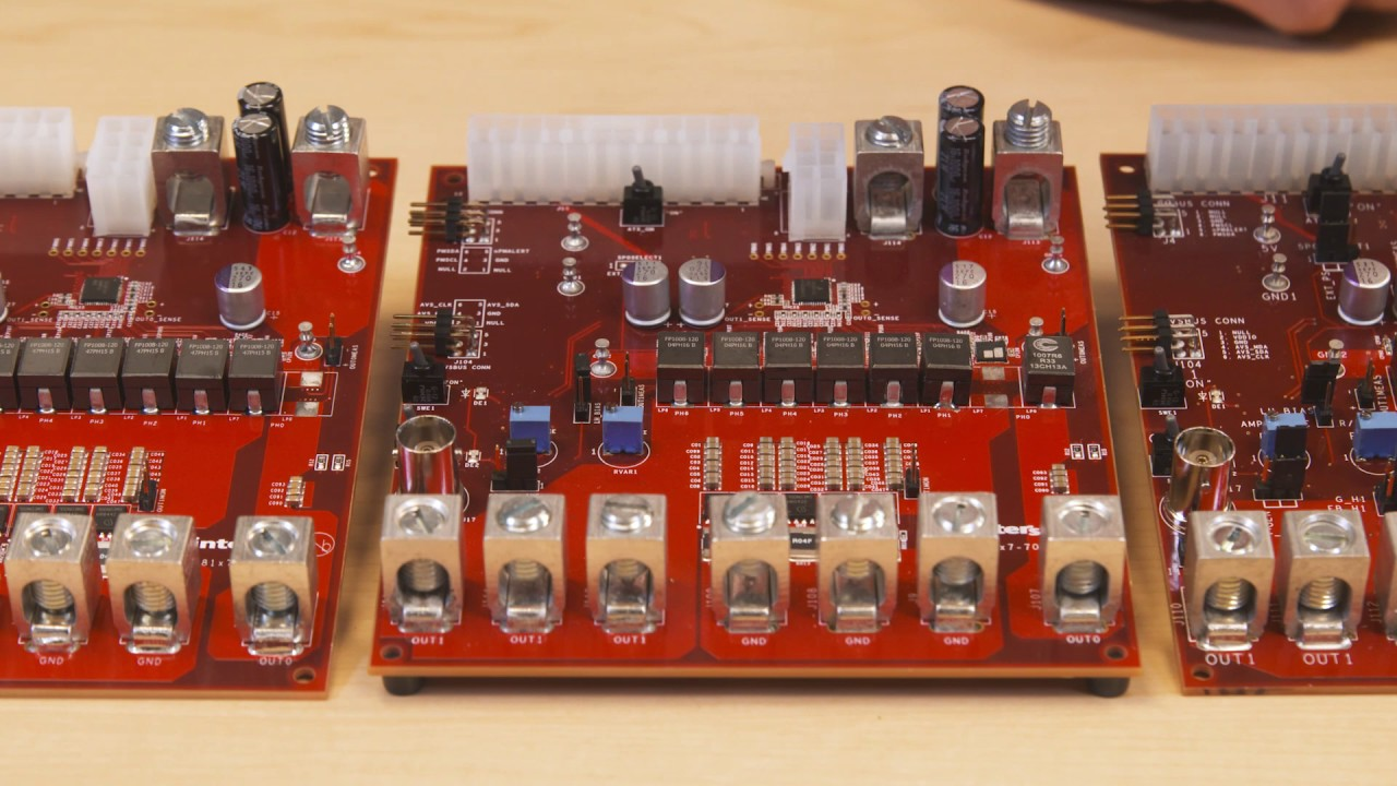 Digital Multiphase Controllers with Smart Power Stage - Evaluation ...