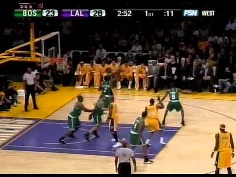 Kobe vs Celtics 2006-07 Season Game Highlight
