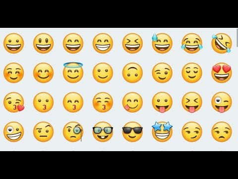 Download all the emojis of whatsapp as png without