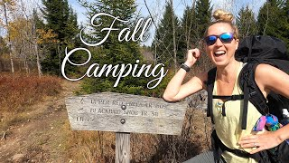 Fall Camping in DoĮly Sods - Foliage Peaking & Sleeping Pads Leaking