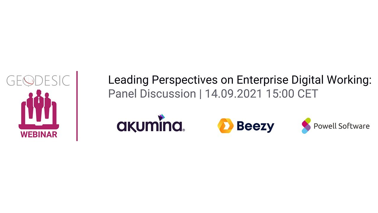 Leading Perspectives on Enterprise Digital Working | Panel Discussion