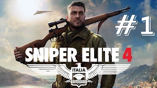 Sniper Elite 4 Walkthrough Part 1 (Full Game) – Mission 1: San Celini Island – No Commentary