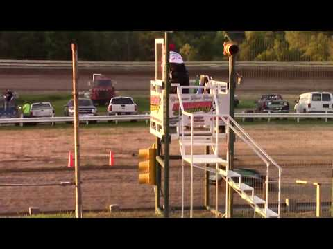 Hummingbird Speedway (9-7-19): Young Guns Jr Sprint - Open Class Heat Race