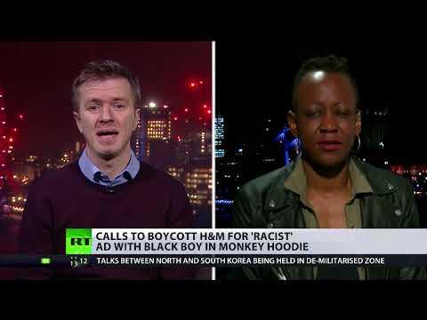 H&M Jungle hoodie controversy (debate)